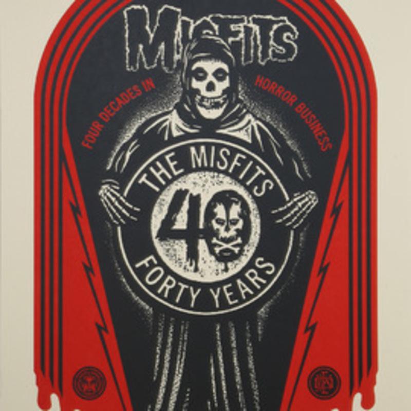 谢帕德·费瑞 - 版画 - The Misfits