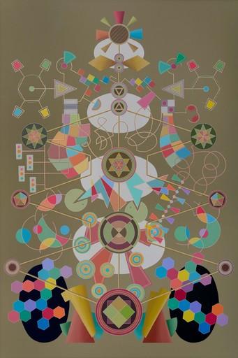 Enrique Rodriguez GUZPENA - Painting - Circuito genealógico