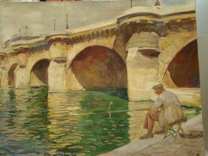 Lucien Hector JONAS, le pêcheur du pont-neuf