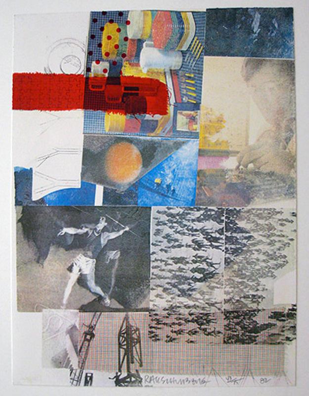 Robert RAUSCHENBERG - Stampa-Multiplo - Untitled