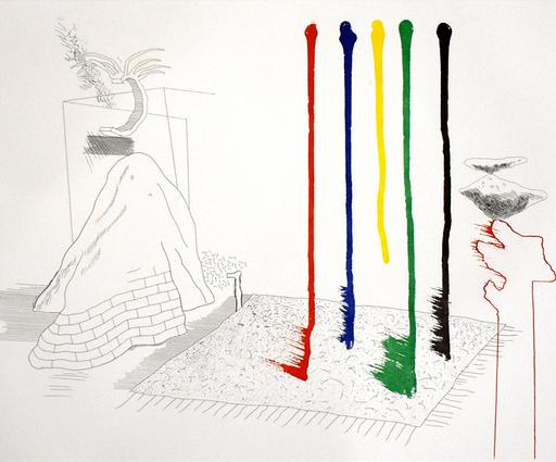 David HOCKNEY - Print-Multiple - I Say They Are