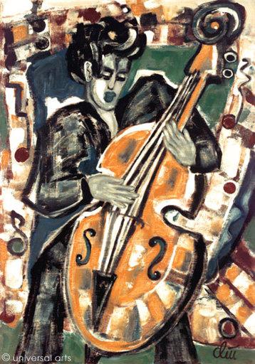 Jacqueline DITT - Painting - Bass