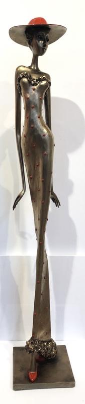 Chantal DE BLOCK - Sculpture-Volume - Agathe