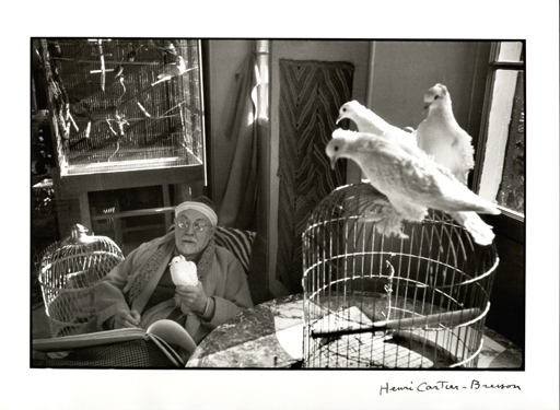 Henri CARTIER-BRESSON - Photography - Matisse