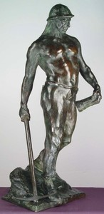 Paul AICHELE - Sculpture-Volume - Miner