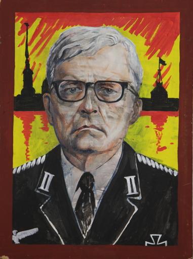 Konstantin ZVEZDOCHETOV - Painting - Leningrad symphony