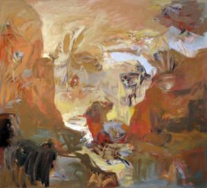 Henri CHARIOT - Peinture - Canyon