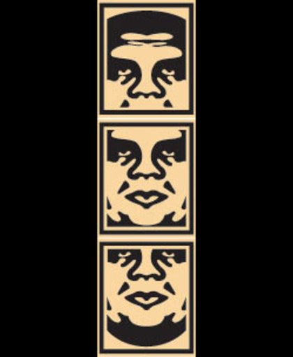 Shepard FAIREY - Druckgrafik-Multiple - OBEY Tryptic (cream)