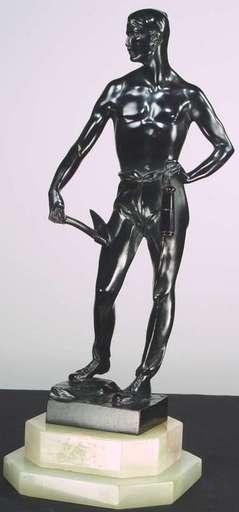 Bruno ZACH - Skulptur Volumen - Miner