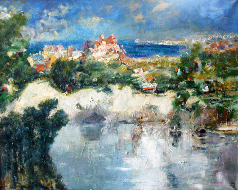 Levan URUSHADZE - Pintura - Seascape