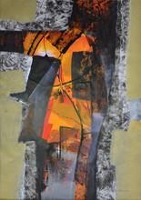 """Pedro AVILA GENDIS - Gemälde - Serie """"Fuego interior"""""""