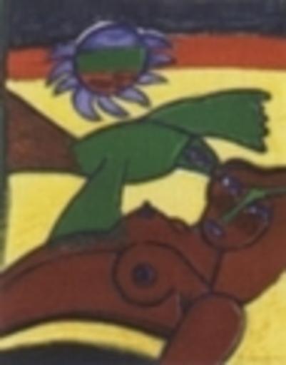 CORNEILLE - Print-Multiple - Femme et oiseau d´été