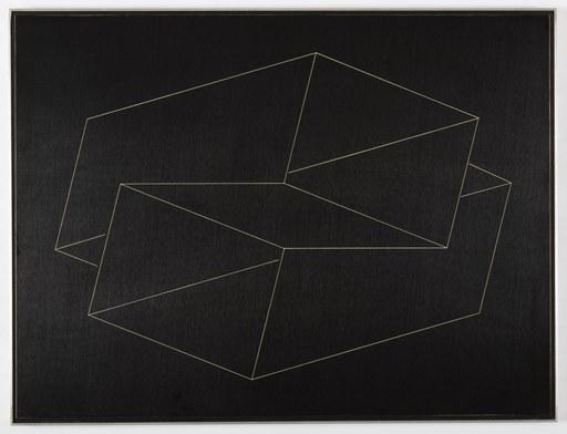 Josef ALBERS - Pintura - Structural Constellation:  NN-1 1962