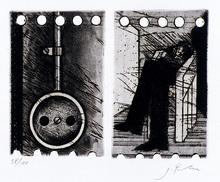 Joachim PALM - Grabado - Ohne Titel