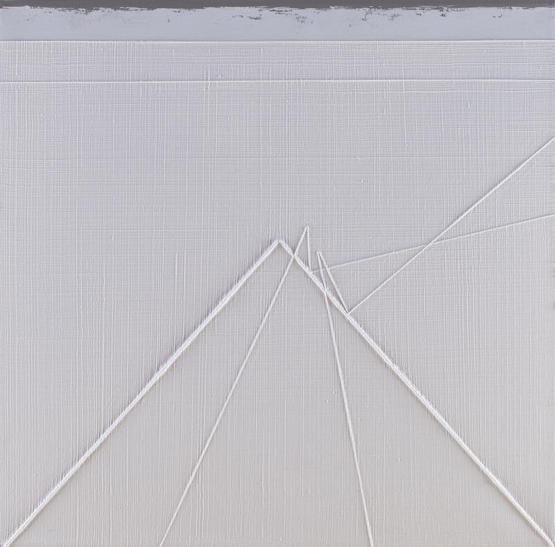 Gianfranco ZAPPETTINI - Gemälde - La trama e l'ordito n.106