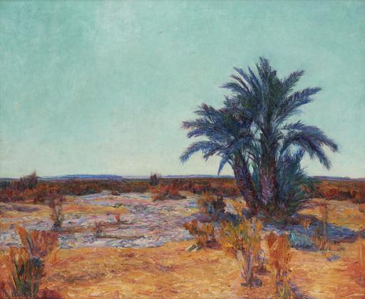 Eugène BOCH - Painting - Orientalist landscape