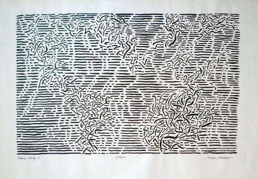 Alan GUSSOW - Dibujo Acuarela - Prairie walk-7