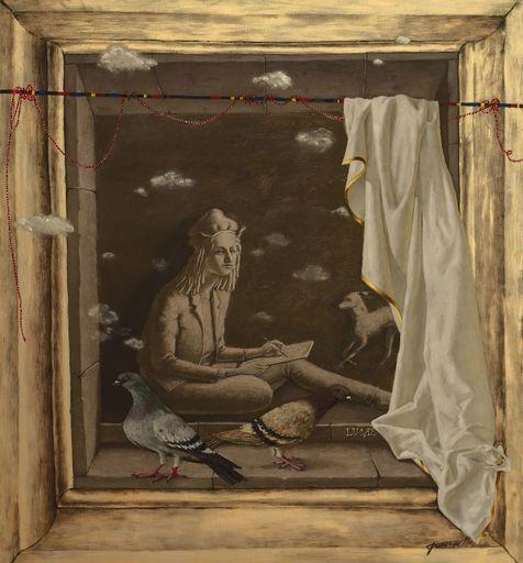 Tatjana PALCUKA - Painting - Lucas II    (Cat N° 6092)