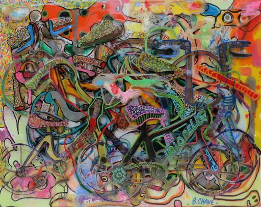 Baptiste CHAVE - Peinture - révolution des vélos