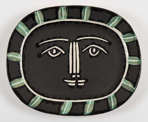 Pablo PICASSO - Ceramic - Visage Gris