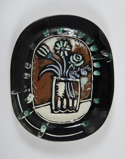 Pablo PICASSO - Ceramic - Bouquet