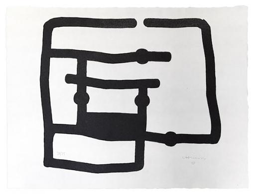 Eduardo CHILLIDA - Estampe-Multiple - Zedatu I