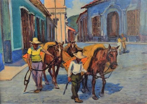 Oscar GARCIA RIVERA - Painting - No Title