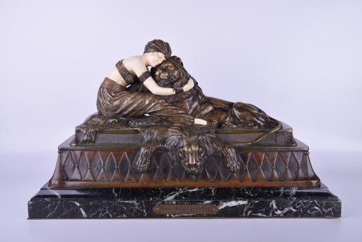 Dimitri CHIPARUS - Sculpture-Volume - Lion