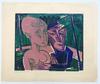 Conrad FELIXMÜLLER - Print-Multiple - People in the Forest (Couple in the Forest) | Menschen im Wa