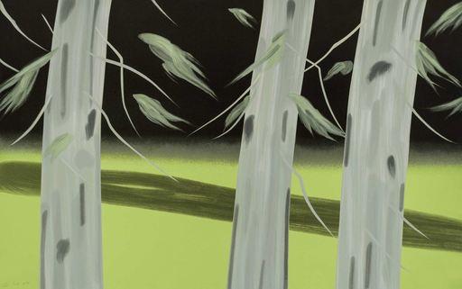 Alex KATZ - Grabado - Three Trees