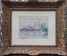 保罗•西涅克 - 水彩作品 - PARIS 1913