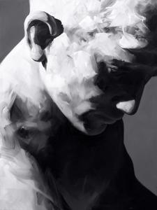Yoann MERIENNE - Painting - Le jeune marbre