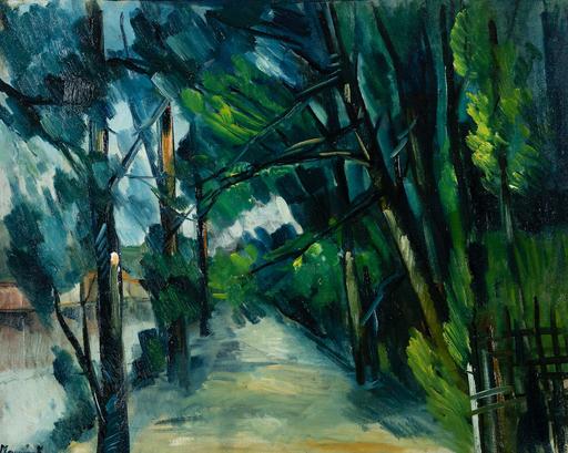 Maurice DE VLAMINCK - Peinture - Sentier au bord d'une rivière