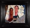 Jean CROTTI - Painting - Deux Castillanes