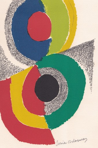 Sonia DELAUNAY - Stampa-Multiplo - Rythmes et couleurs