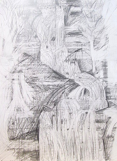 Karl KLUTH - Dibujo Acuarela - abstrakt.