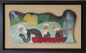 Manuel MENDIVE - Peinture - El Viaje