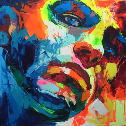 Françoise NIELLY - Painting - Untitled 730