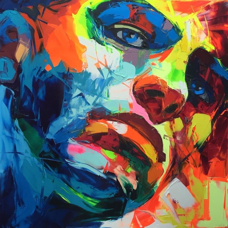 Françoise NIELLY - Peinture - Untitled 730