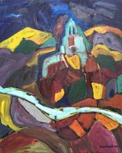 Christian DURIAUD - Pintura - Church