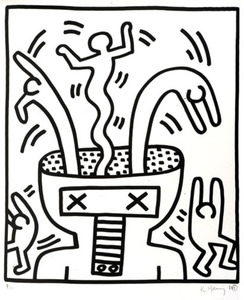 Keith HARING, No title