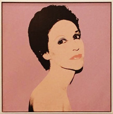 Andy WARHOL - Painting - Portrait of a New York Society Lady