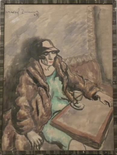 Marcel PRUNIER - Gemälde - le dernier verre