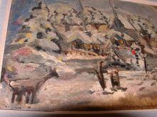 Konstantin A. KOROVIN - Pintura - Christmas postcard