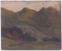 "Karl Ludwig PRINZ - Painting - ""Alpine Landscape"", Oil Painting"