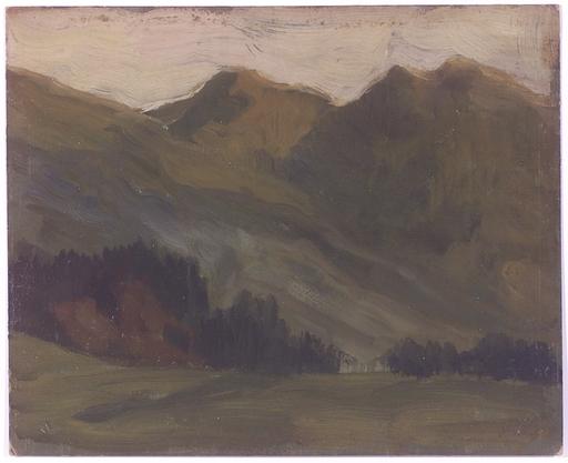 "Karl Ludwig PRINZ - Peinture - ""Alpine Landscape"", Oil Painting"