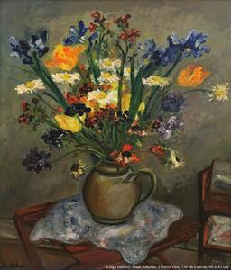 Isaac ANTCHER - Painting - still life