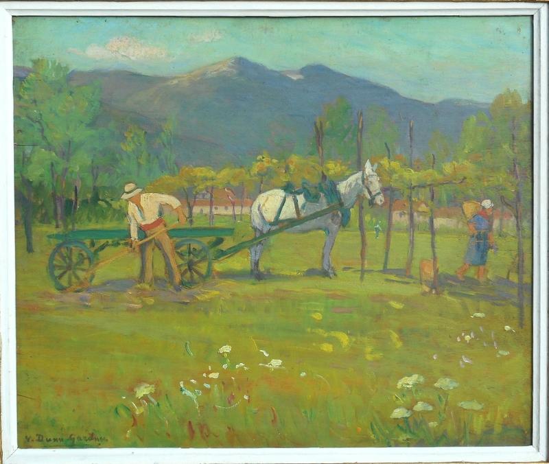 Violet DUNN-GARDNER - Painting