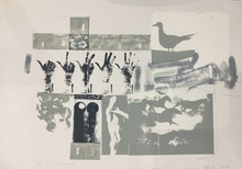 Robert RAUSCHENBERG - Estampe-Multiple - Romances (Prophecy)