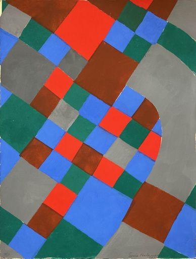 Sonia DELAUNAY-TERK - Print-Multiple - Poesie des mots Poesie des couleurs